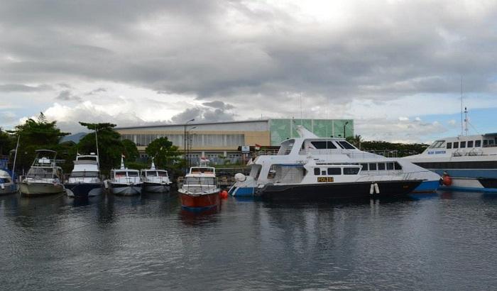 Pelabuhan Kota Menado. (foto: ist/palontaraq)