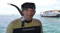 Penulis di Bunaken, Sulawesi Utara. (foto: ist/palontaraq)