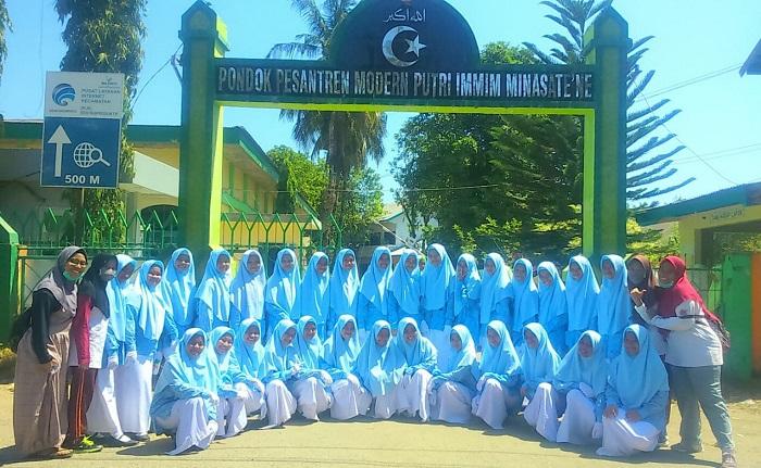 Santri Putri IMMIM (foto: ist/palontaraq)