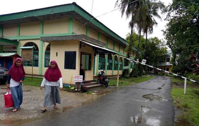 Pos Jaga Putri IMMIM. (foto: ist/palontaraq)