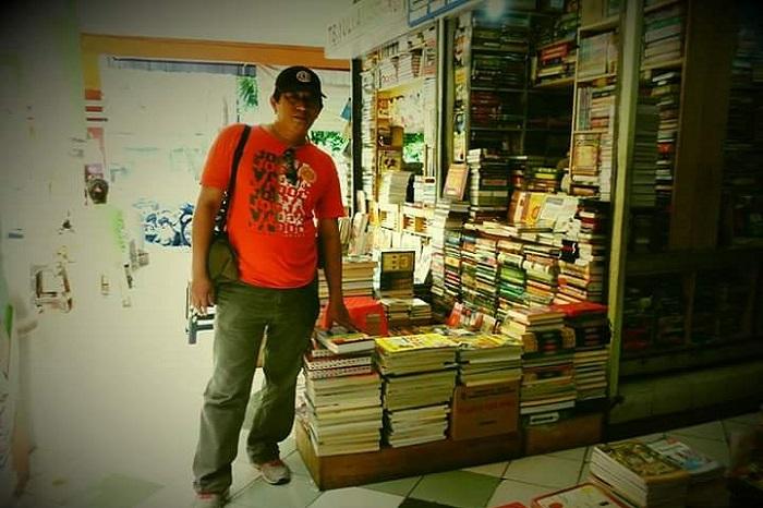 Perjalanan berburu buku langka di Yogyakarta. (foto: ist/palontaraq)
