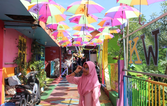 Colourful Village, Jodipan in Malang City. (foto: mfaridwm/palontaraq)