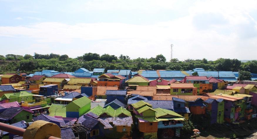 Colourful Village, Jodipan in Malang City. (foto: mfaridwm/palontaraq)