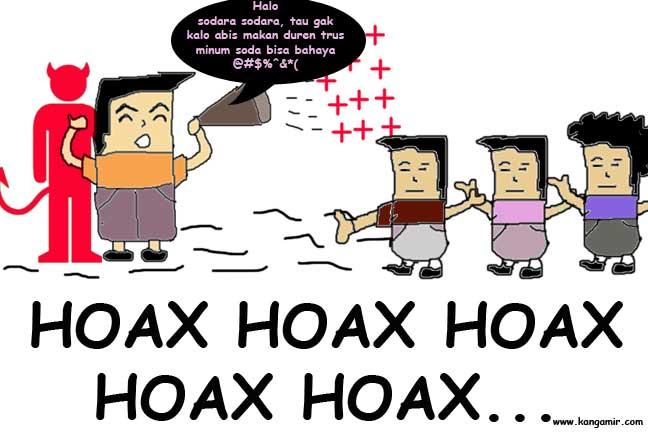 Ilustrasi - Penyampaian informasi hoax tentang kesehatan dan bahaya mengonsumsi makanan tertentu bagi kesehatan. (foto: ist)