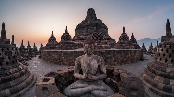 Candi Borobudur. (foto: ist/palontaraq)