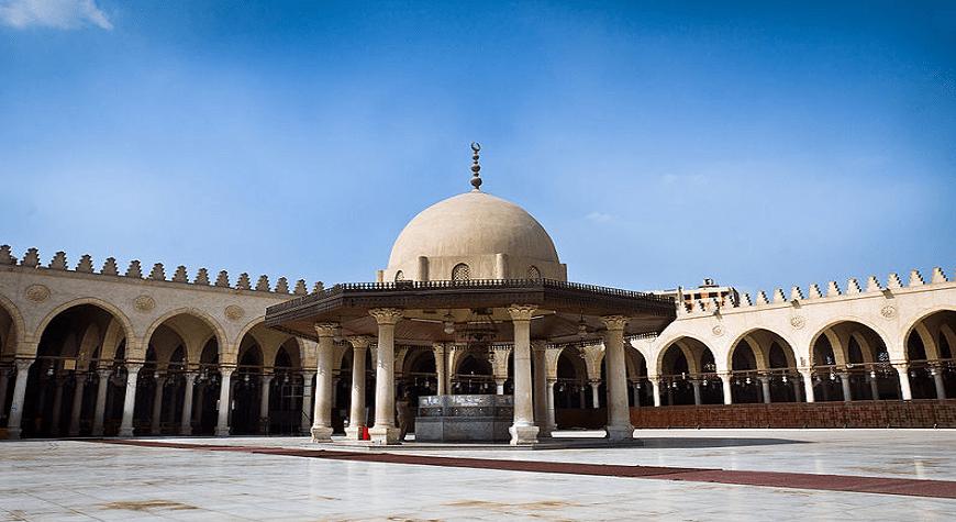 Masjid Amru bin Ash di Kairo, Mesir. (foto: ist/palontaraq)