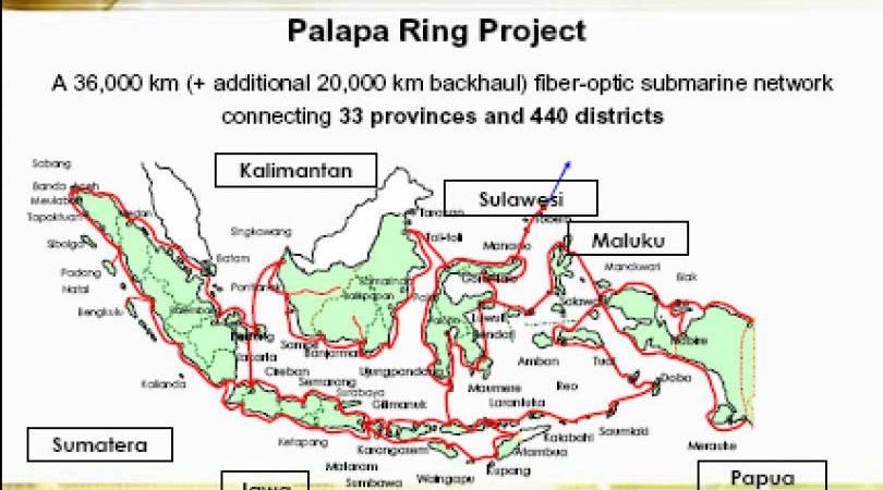 Palapa Ring Project, Pembangunan Serat Optik. (foto: kbr.id)