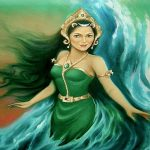 Lukisan Nyi Roro Kidul. (foto: ist/palontaraq)