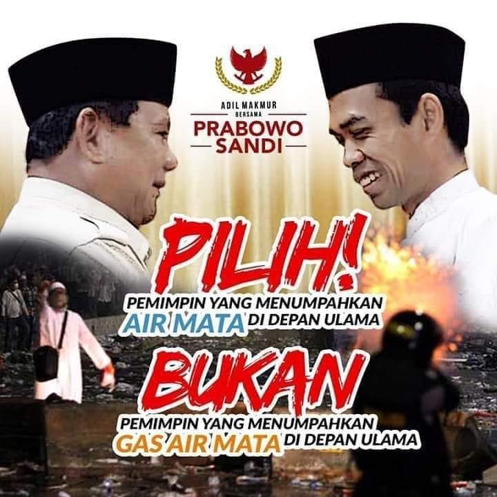 Prabowo, Capres pilihan hasil ijtima' ulama. (foto: fb/2019gp)