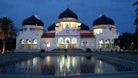 Mesjid Darussalam, Aceh. (foto: ist/palontaraq)