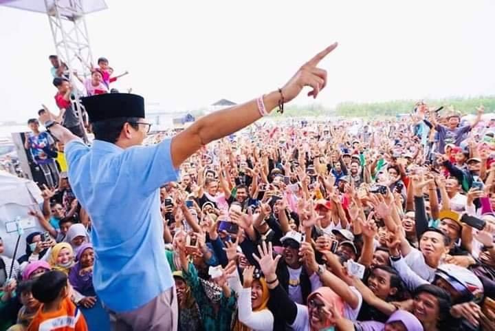 """Kampanye """"Adil Makmur bersama Prabowo-Sandi"""" (foto: BPN Prabowo Sandi)"""