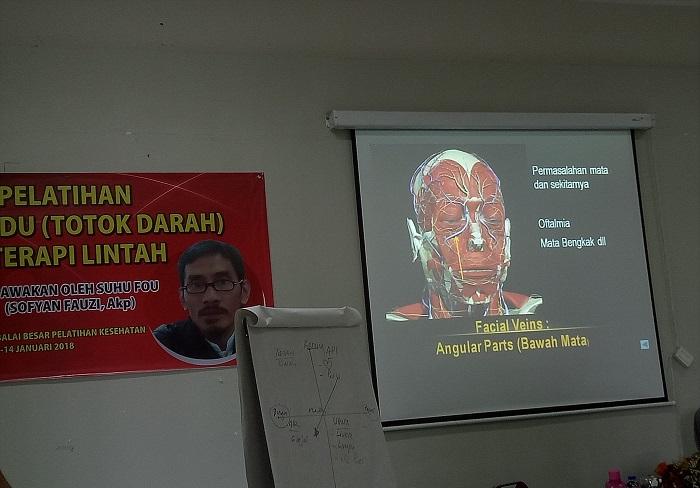 Fashdu di titik vena kepala. (foto: mfaridwm/palontaraq)