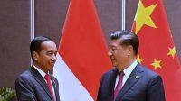 Presiden Jokowi dan Xi Jin Ping.