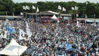 Kampanye Prabowo di Tegal, Jawa Tengah. (foto: ist/palontaraq)