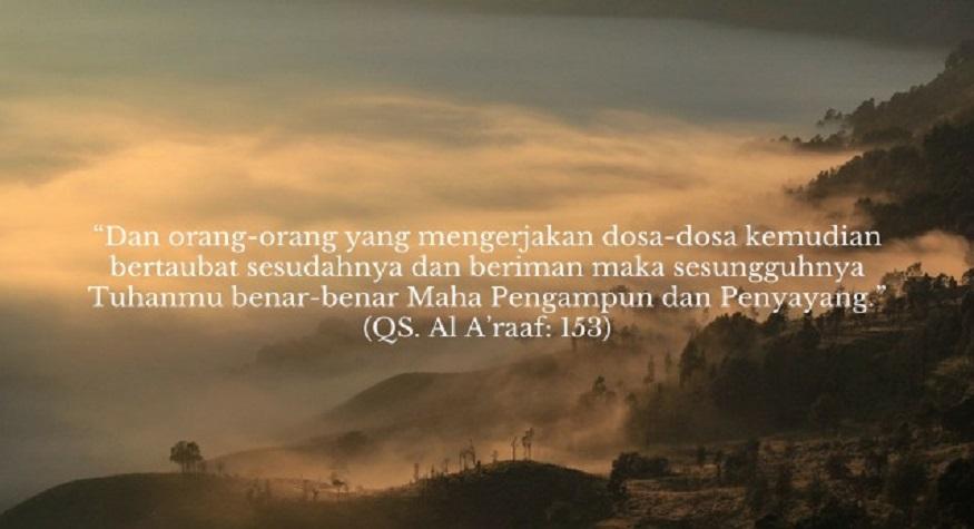 Allah Maha Penerima Taubat. (ilustrasi)
