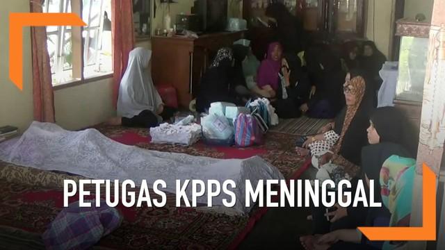 Petugas KPPS Meninggal (foto: liputan6)