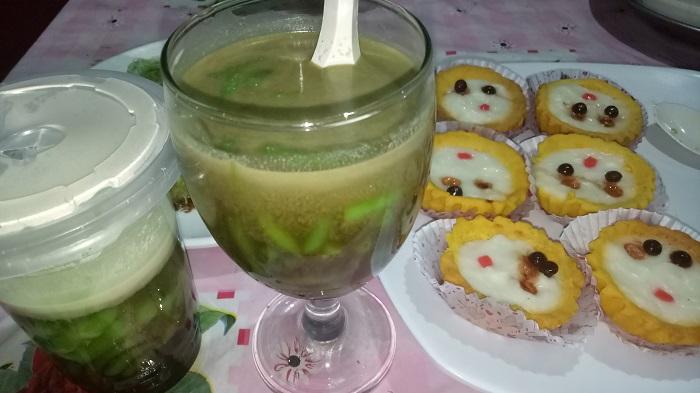 Jangan berlebihan mengonsumsi makanan dan minuman manis saat berbuka puasa. (foto: mfaridwm/palontaraq)