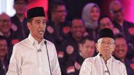 Capres Petahana, Jokowi dan Cawapresnya, KH Ma'ruf Amin. (foto: ist/*)