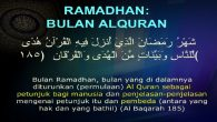 Ramadhan, Syahrul Qur'an. (foto: ist/palontaraq)