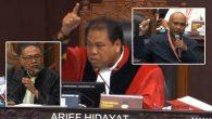 Bambang Widjojanto, Arief Hidayat dan Idham