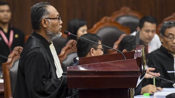 Kuasa Hukum Capres 02, Bambang Widjojanto. (foto: ist/palontaraq)