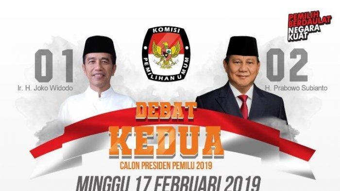 Debat Capres kedua, Jokowi vs Prabowo. (foto: ist/palontaraq)