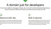 Domain untuk Developer
