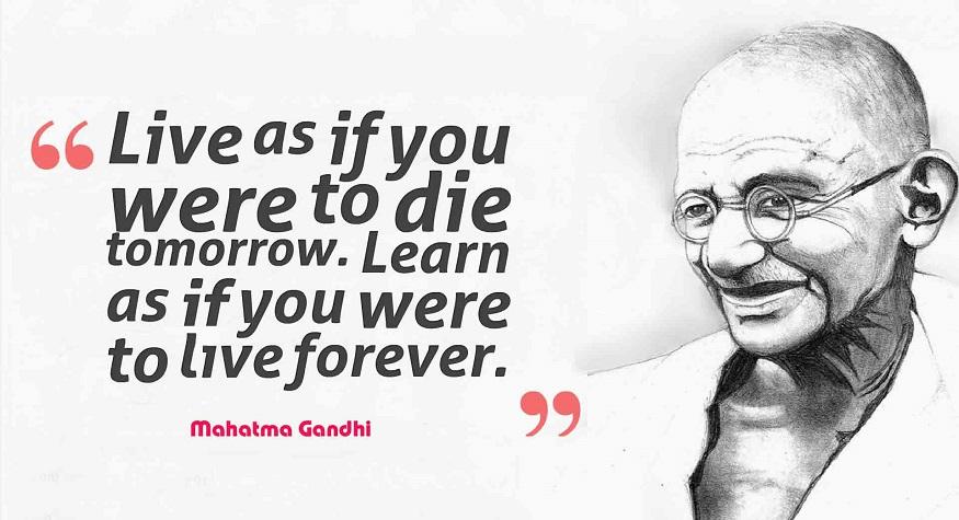 Mahatma Gandhi. (foto: ist/palontaraq)