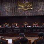 Sidang perdana gugatan pilpres di MK, digelar JUmat (14/6/2019)