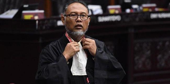 Bambang Widjoyanto, Ketua Tim Kuasa Hukum Paslon 02, Prabowo-Sandiaga Uno. (foto: ist/palontaraq)
