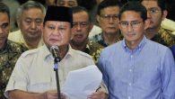 Prabowo Subianto, Sandiaga, dan Tim BPN. (foto: ist/palontaraq)