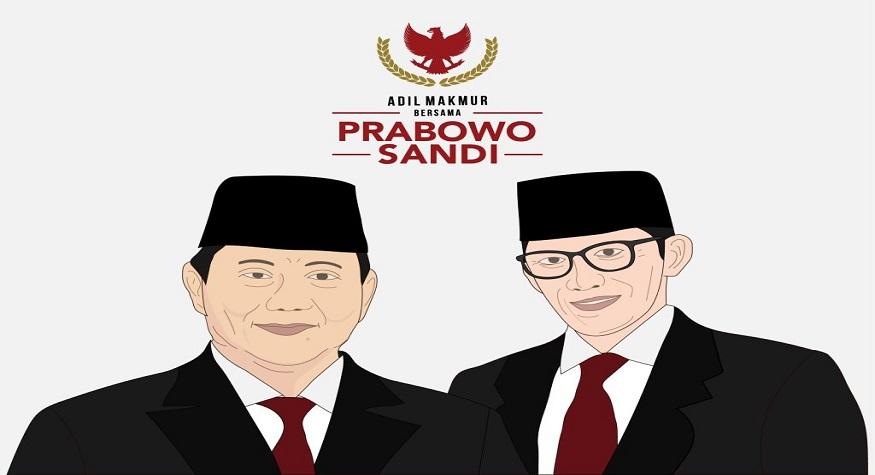 Adil Makmur bersama Prabowo Sandi. (foto: ist/palontaraq)