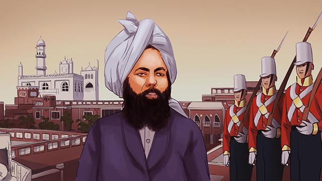 Ilustrasi Mirza Ghulam Ahmad, Pendiri Ahmadiyah, yang menganggap dirinya sebagai Nabi. Di Indonesia, ajaran Ahmadiyah berkembang pesat dan mendapatkan pengikut meskipun MUI sendiri sudah menyatakannya sebagai ajaran yang sesat dan menyesatkan. Ajarannya bukan Islam atau bagian dari Islam. (foto: ist/palontaraq)