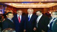 Foto: Bersama dua mantan Menteri Pertahanan Amerika; Leon E. Panetta & Chuck Hagel.