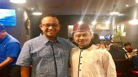 Bersama Prof Anies Baswedan, Gubernur DKI Jakarta. (foto: dok.pribadi Imam Shamsi Ali)