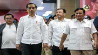 Budi Gunawan (BG) diantara Jokowi dan Prabowo. (foto: ist/palontaraq)