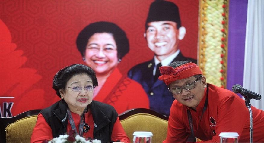 foto: Ketum PDIP Megawati dan (foto: antaranews)
