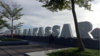Kata Makassar di Pantai Losari. (foto: mfaridwm/palontaraq)