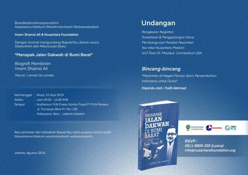 Undangan Launching Buku
