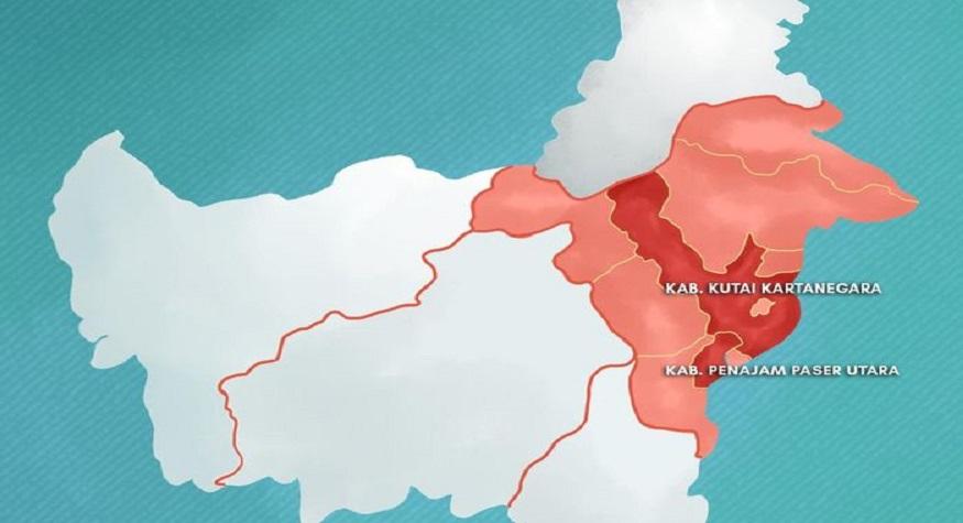Dua kabupaten di Kaltim disiapkan sebagai lahan pemindahan ibukota RI. (foto: ist/palontaraq)