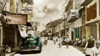 De Passarstraat, Makassar 1930-1942 (foto: KITLV Leiden)
