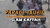 Parade Tauhid Muslimah Banten di Bulan Muharram. (foto: ist/palontaraq)