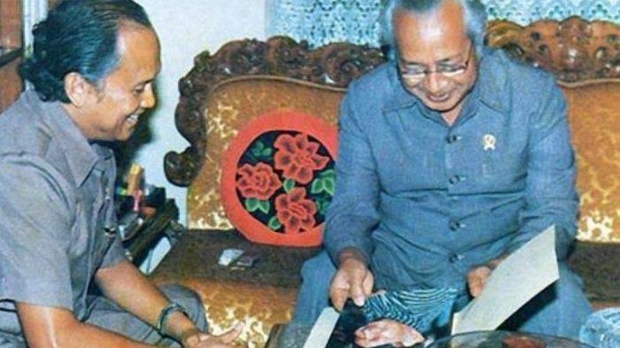 Habibie dan Soeharto. (foto: ist/palontaraq)