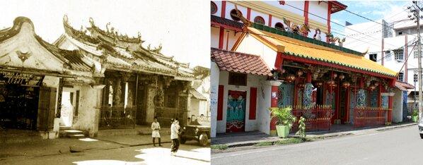"""Klenteng """"Ma Tjo Pho"""" dan Vihara Ibu Agung Bahari. (foto: ist/palontaraq)"""