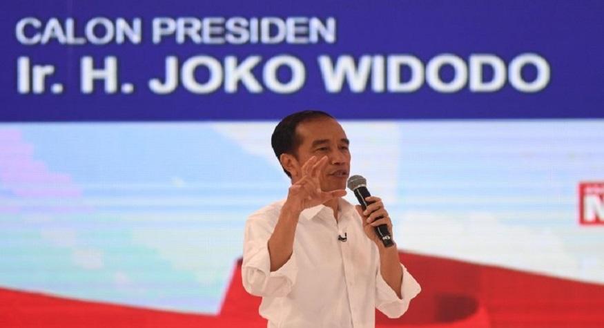 Jokowi. (foto: ist/palontaraq)