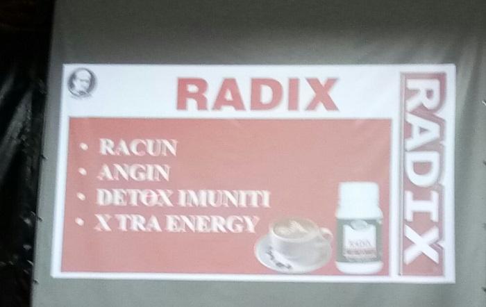 Manfaat Radix. (foto: ist/palontaraq)