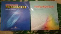 Buku Psikosastra dan Psikolinguistik. (foto: ist/palontaraq)