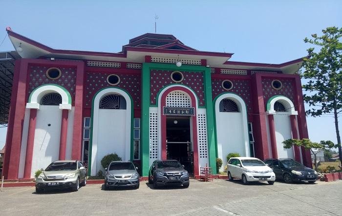 Masjid Muhammad Cheng Hoo di Jl. Tun Abdur Razak, Gowa. (foto: ist/palontaraq)
