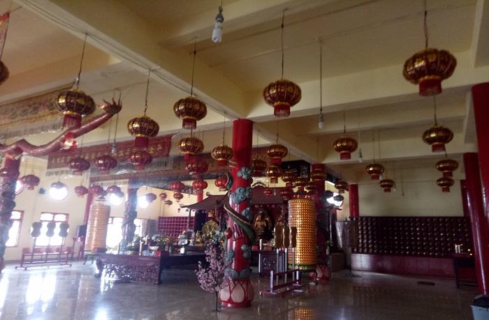 Kondisi ruangan di Lantai 4 Vihara Ibu Agung Bahari. (foto: mfaridwm/palontaraq)
