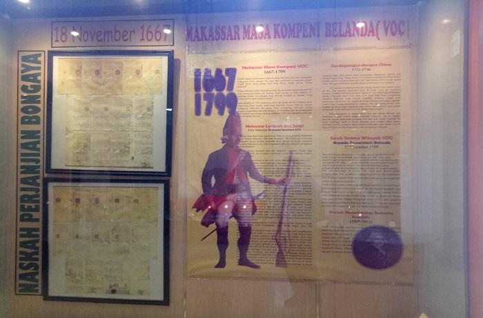Koleksi Museum: Isi Perjanjian Bungaya 1667. (foto: mfaridwm/palontaraq)